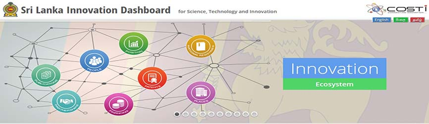 Sri Lanka Innovation Dashboard Pic